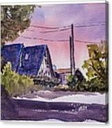 Whidbey Getaway Canvas Print