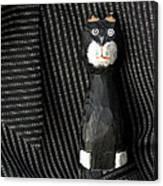 Whimsical Cat Canvas Print