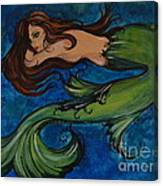 Whimsical Mermaid Canvas Print