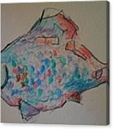 Whimsy Fish Canvas Print