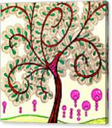 Whimsy Tree Canvas Print