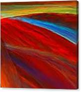 Whirled Colors Canvas Print