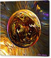 Whirling Wood  Canvas Print