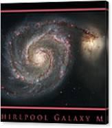 Whirlpool Galaxy M51 Canvas Print
