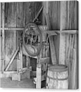 Whiskey Barrel  Canvas Print