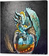 Whiskey Dragon Canvas Print