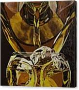 Whiskey Pour Canvas Print