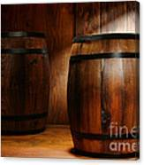 Whisky Barrel Canvas Print