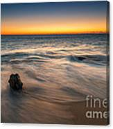 Whisper Of The Waves  Canvas Print