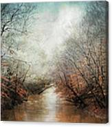 Whisper Of Winter Canvas Print
