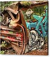 Whistler Train Wreck Stopping Point Canvas Print
