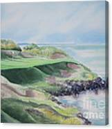 Whistling Straits 7th Hole Canvas Print