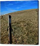 Appalachian Trail White Blaze Post Canvas Print