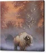 White Buffalo Spirit Canvas Print