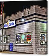 White Castle Canvas Print
