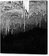 White Cave Needles Canvas Print