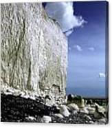 White Cliffs At Birling Gap Canvas Print