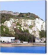 White Cliffs Of Dover Canvas Print