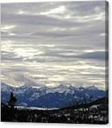 White Excellence Of Winter Canvas Print