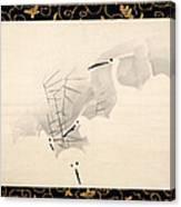 White Herons Canvas Print