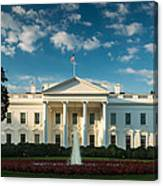White House Sunrise Canvas Print