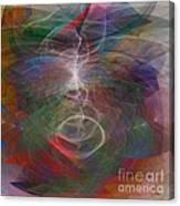 White Lightning - Square Version Canvas Print