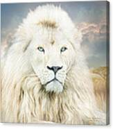 White Lion - Spirit Of Goodness Canvas Print