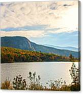 White Mountain Range Canvas Print