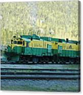 White Pass Railroad 2 Canvas Print