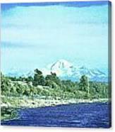 White Rock To Baker Canvas Print