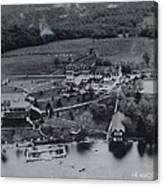 White Roe Lake Hotel-catskill Mountains Ny Canvas Print