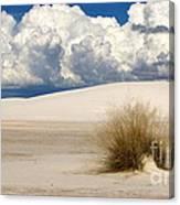 White Sands Cross Canvas Print