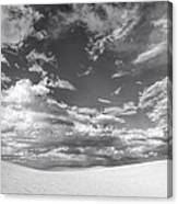 White Sands Drama Canvas Print