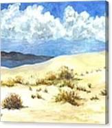White Sands New Mexico U S A Canvas Print