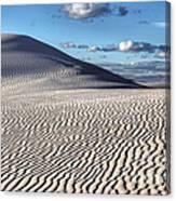 White Sands Patterns Canvas Print