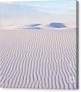 White Sands Serenity Canvas Print
