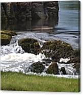 White Water Beauty Canvas Print