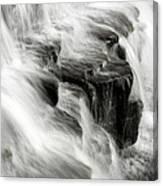 White Water Falls Canvas Print