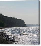 Whitefish Bay Shoreline Canvas Print