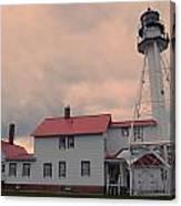 Whitefish Point Light Canvas Print