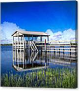 Whites And Blues Canvas Print