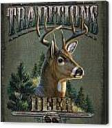 Whitetail Deer Traditions Canvas Print