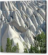 Whitewashed Rock From A Hot Air Balloon Canvas Print
