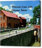 Whitewater Canal Locks Canvas Print