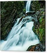 Waterfall - Whiting Downrush Canvas Print