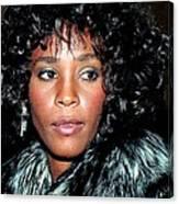 Whitney Houston 1989 Canvas Print