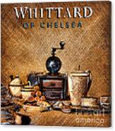 Whittard Of Chelsea Tea Coffee And Drawings Canvas Print