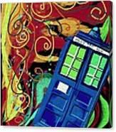 Spiral Through Time Canvas Print