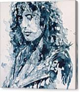 Whole Lotta Love Jimmy Page Canvas Print