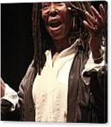 Whoopi Goldberg Canvas Print